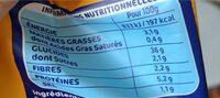 Lustucru gnocchi a poeler - Voedingswaarden - fr