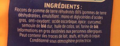 Lustucru gnocchi a poeler format xxl - Ingredienti - fr
