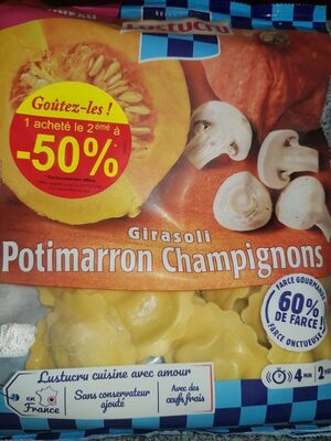 Girasoli Potimarron Champignons - Product - fr