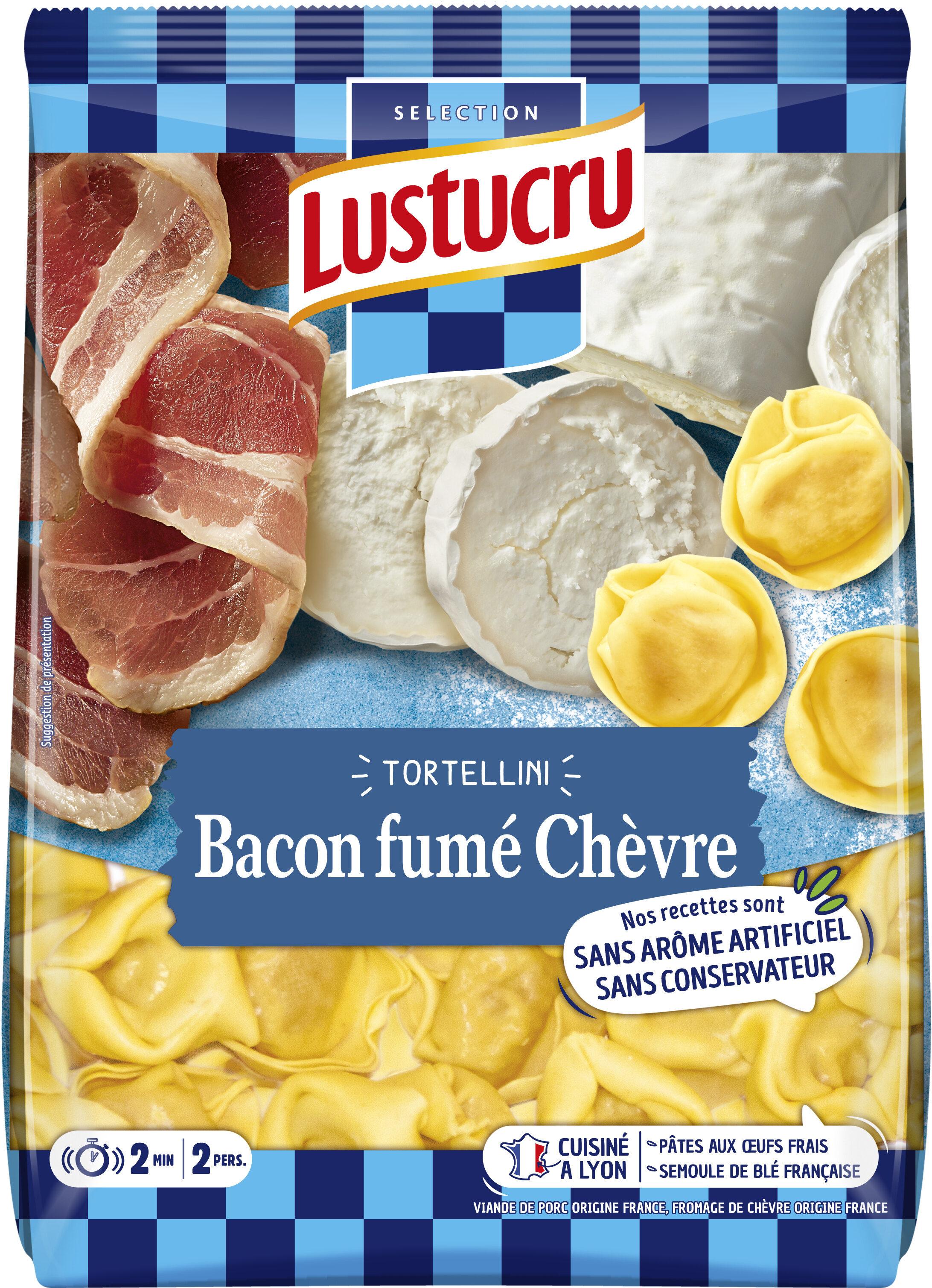 Tortellini bacon chevre 250g lustucru x8 - Product - fr