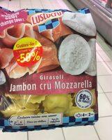 Girasoli jambon cru mozzarella - Product