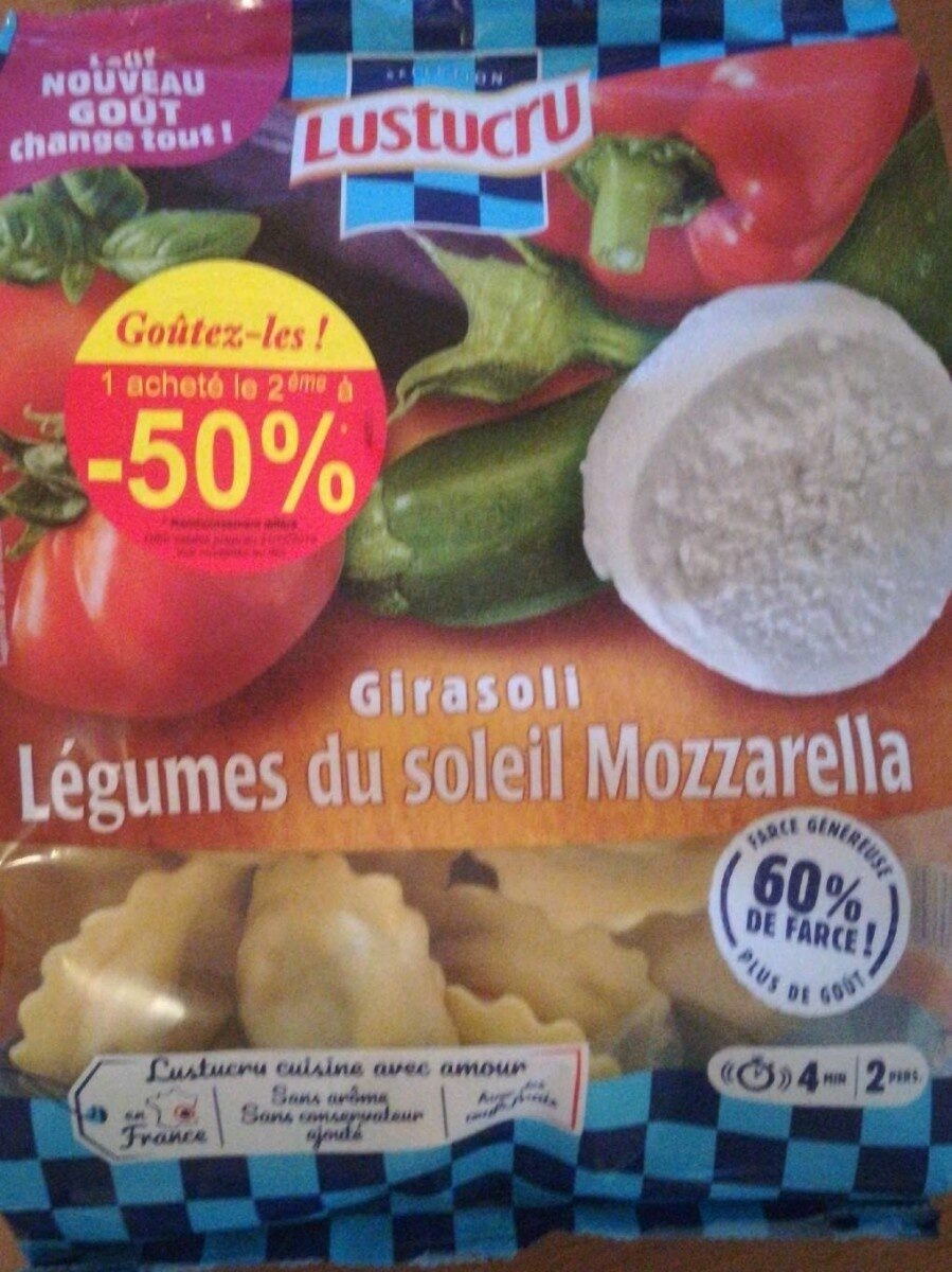 Girasoli Légumes du soleil Mozzarella - Product - fr