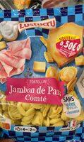Tortellini jambon comte 250g - Produit - fr