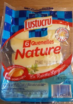Quenelles nature - Produit