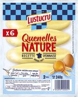 LUSTUCRU QUENELLES NATURE 6X40g - Produit - fr