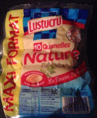10 Quenelles Nature - Produit