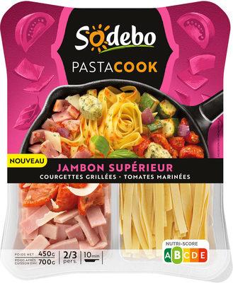 Pastacook - jambon supérieur, courgettes grillées et tomates marinées - Produit