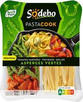 Pastacook tomates marinés poivrons grillés asperges vertes - Produit