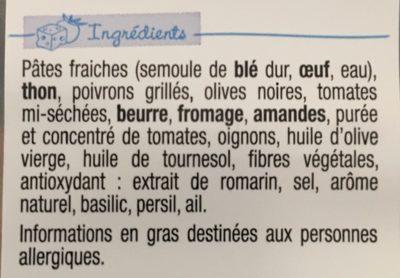 PastaCook Thon - Ingrédients