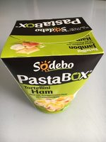 Pasta box tortellini jambon - Product - fr