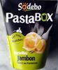 PastaBOX (Tortellini Jambon, Sauce au Parmesan, aux pâtes fraîches) - Produit