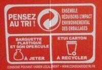 Pasta Box fusilli à la bolognaise - Recyclinginstructies en / of verpakkingsinformatie - fr
