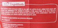 PastaBox - Fusilli à la Carbonara - Ingredienti - fr