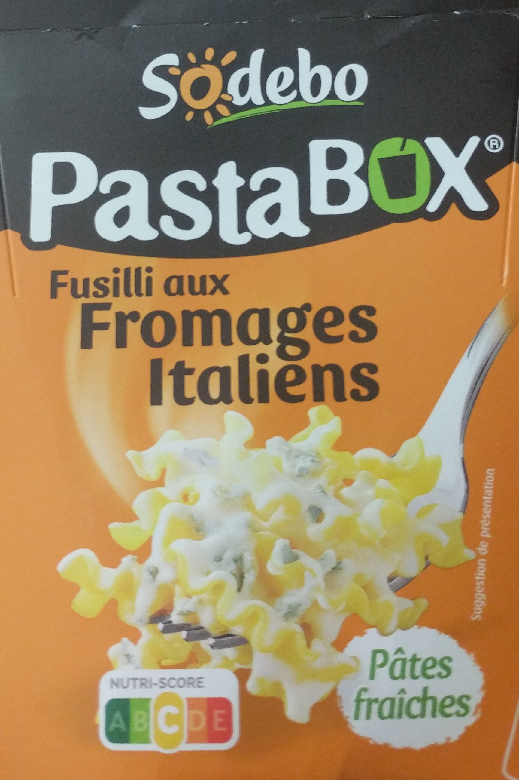 PastaBox - Fusilli aux Fromages italiens - Product