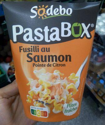 PastaBox - Fusilli au Saumon et Pointe de citron - 14