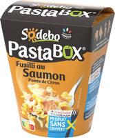 PastaBox - Fusilli au Saumon et Pointe de citron - Produit - fr