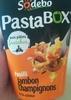 PastaBOX Fusilli Jambon Champignons à la crème - Produit