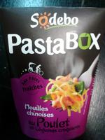 PastaBOX (Nouilles chinoises au Poulet et Légumes croquants aux pâtes fraîches) - Product - fr