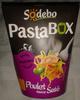 Pastabox Poulet sauce Saté - Product