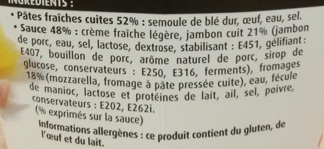 CremioBox - Jambon à la crème - Ingrédients - fr