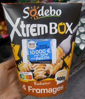 XtremBox - Radiatori 4 fromages - Product - fr
