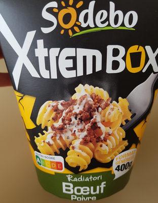 XtremBox - Radiatori  Bœuf Sauce au poivre - Produit