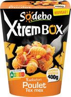 xtrembox radiatori poulet tex mex - Produit - fr