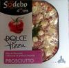 Pizza Chiffonade de jambon, billes de Mozzarella & Roquette Prosciutto Sodebo - Product