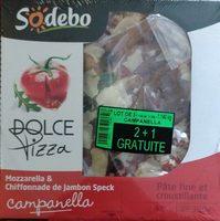 Dolce pizza campanella (lot de 3) - Produit