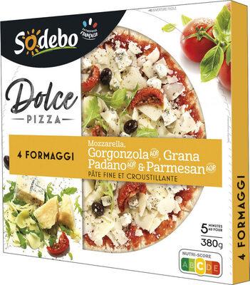 Sodebo Dolce Pizza - 4 Formaggi - Prodotto - fr