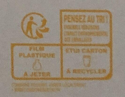 Sodebo Dolce Pizza - 4 Formaggi - Istruzioni per il riciclaggio e/o informazioni sull'imballaggio - fr