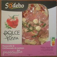 Dolce pizza  Prosciutto - Produkt - fr