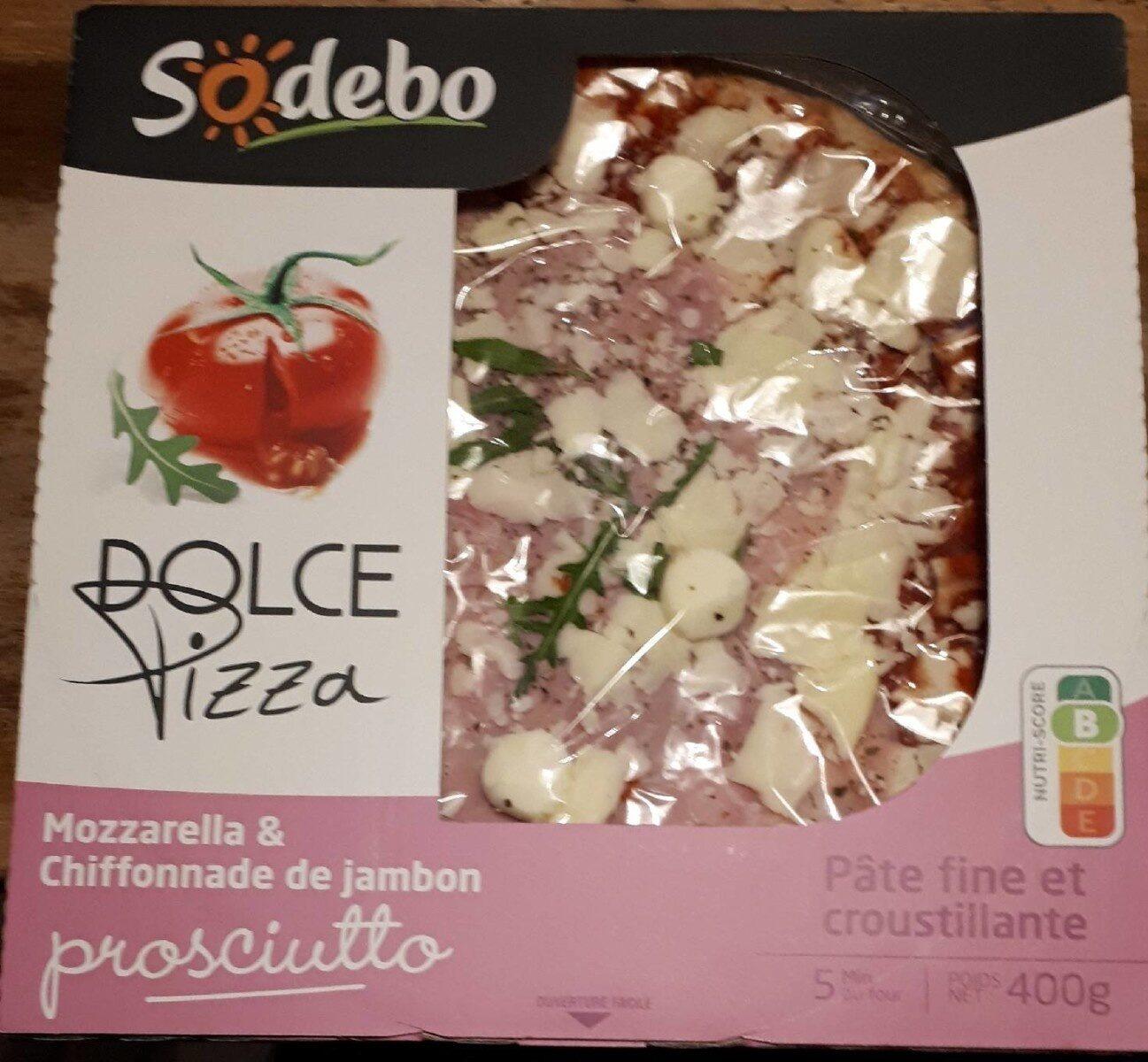 Dolce pizza - Prosciutto - Producto