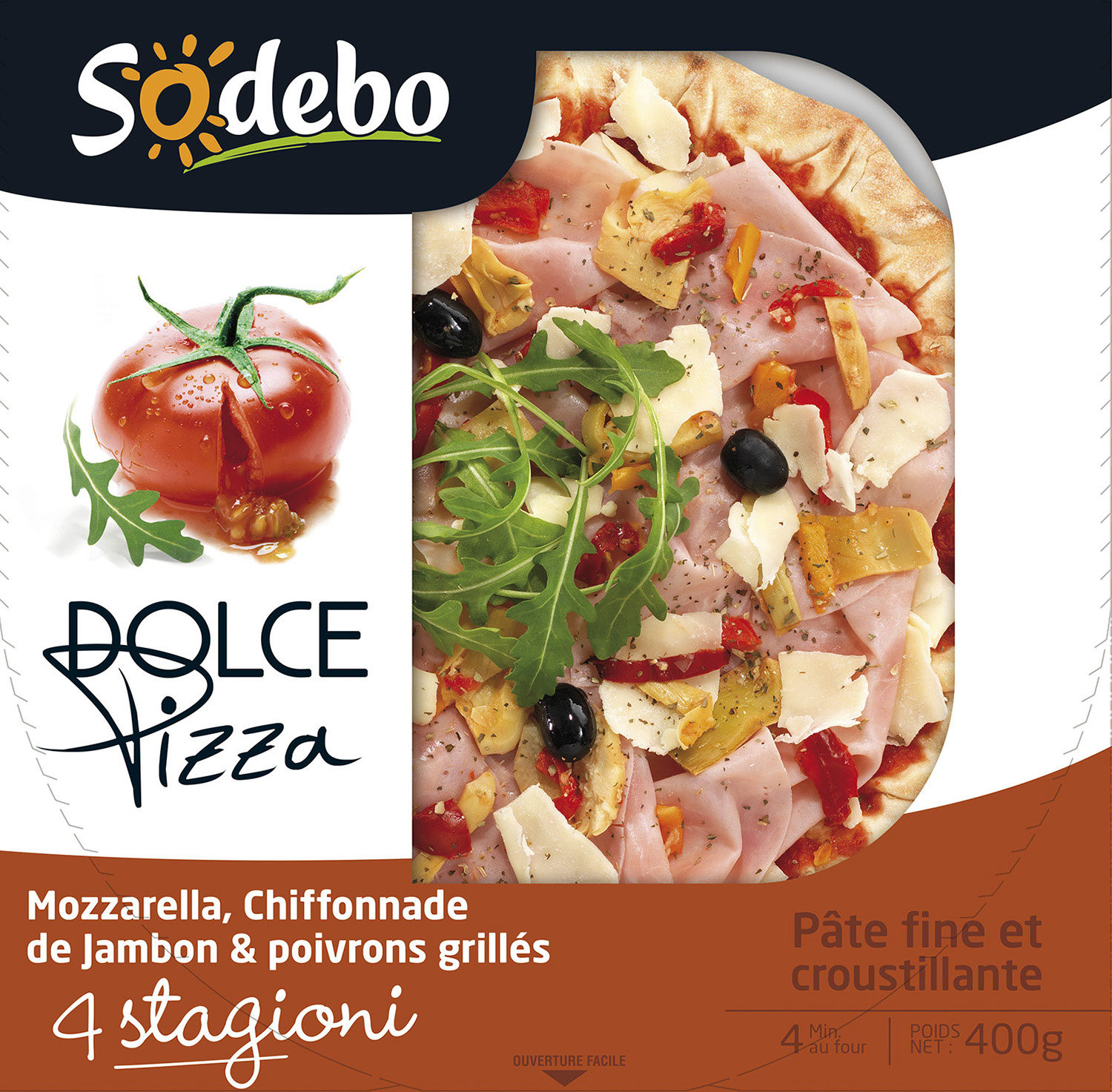 Dolce Pizza - 4 Stagioni - Product - fr