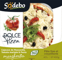 Sodebo Dolce Pizza - Margherita - Product