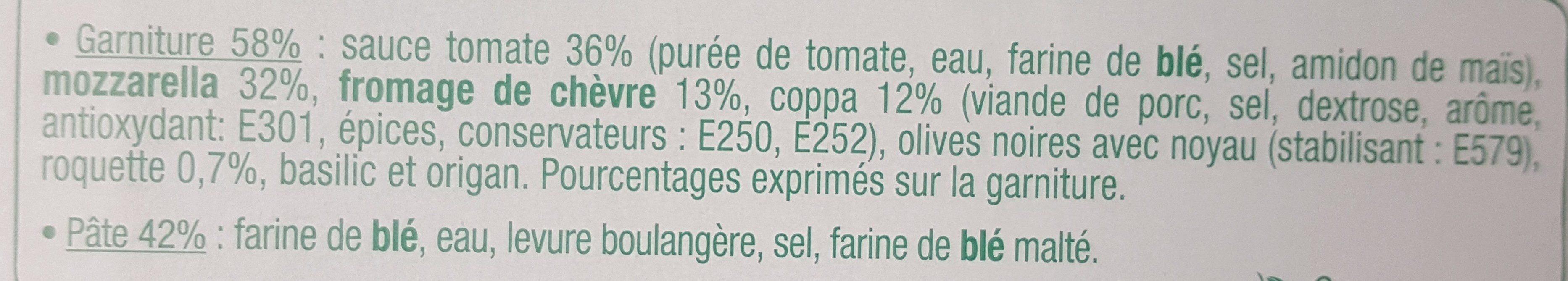 Dolce Pizza - Capri - Ingredients
