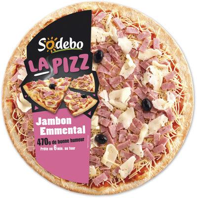 La Pizz - Jambon Emmental - Produit