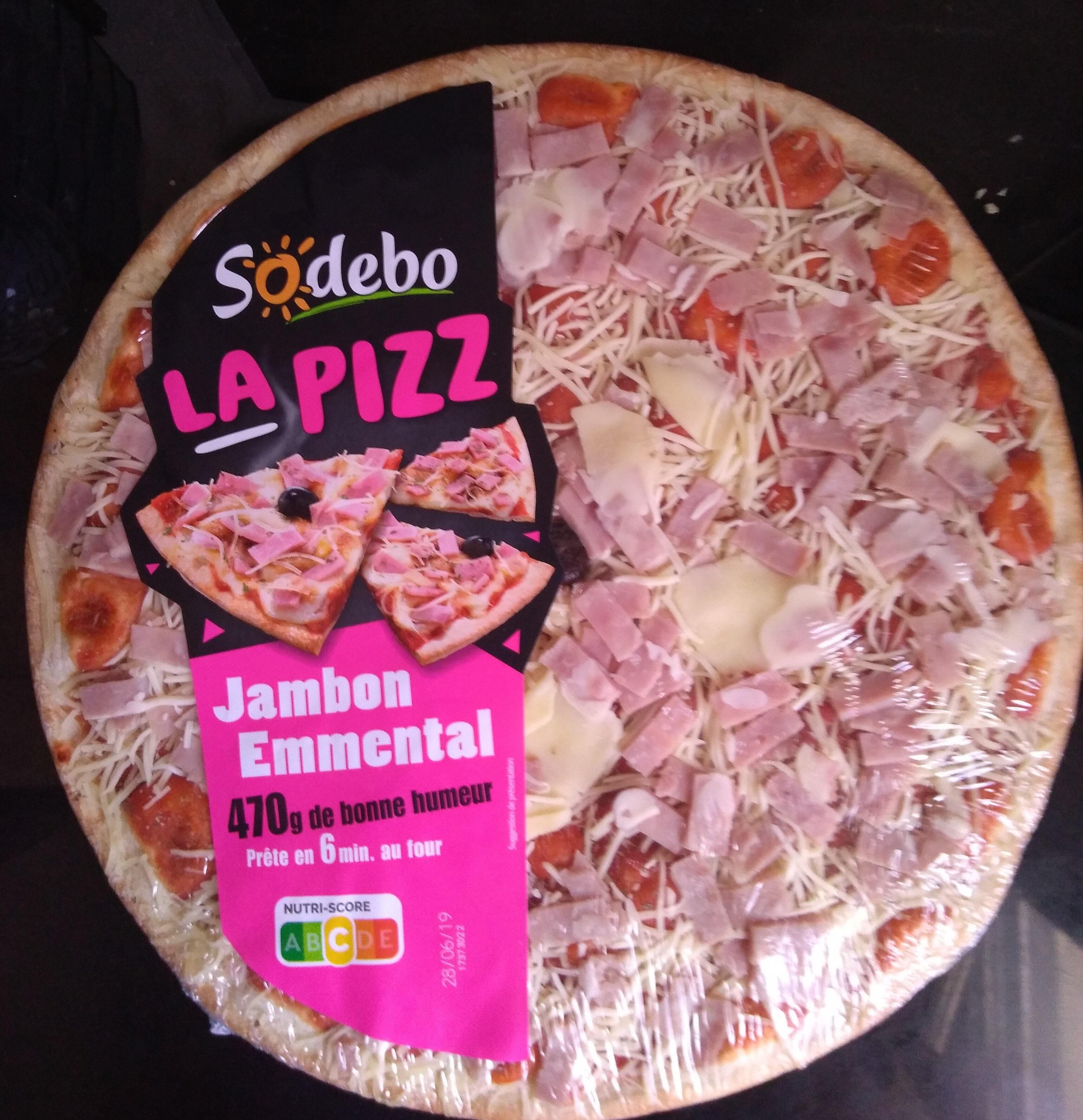 La Pizz - Jambon Emmental - Product