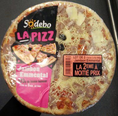 La Pizz Jambon Emmental - Produit - fr