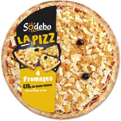 La Pizz 4 Fromages - Produit - fr