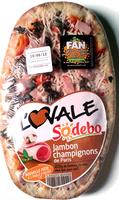 L'ovale Jambon champignons - Product