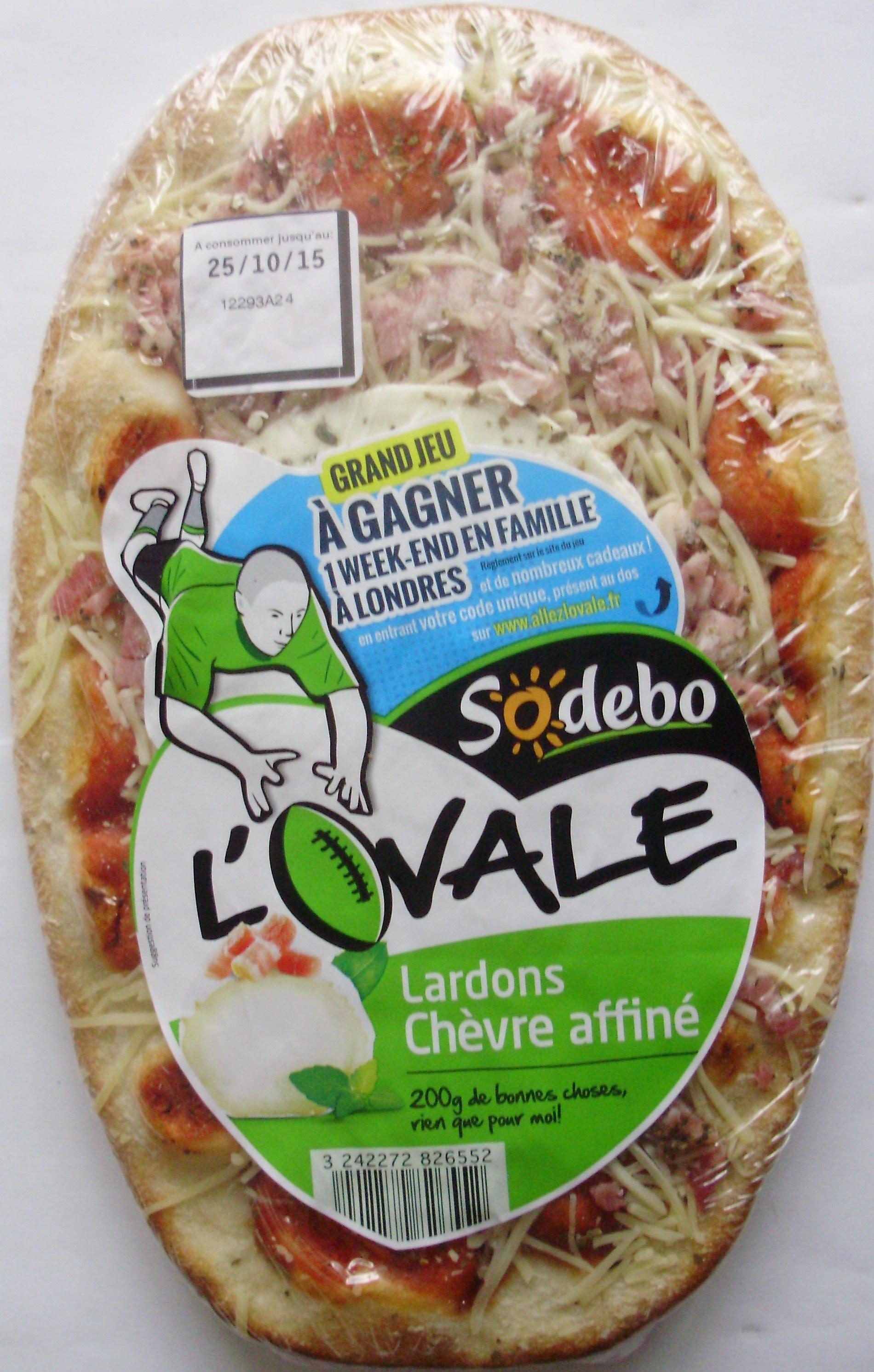 L'Ovale Lardons Chèvre affiné - Product