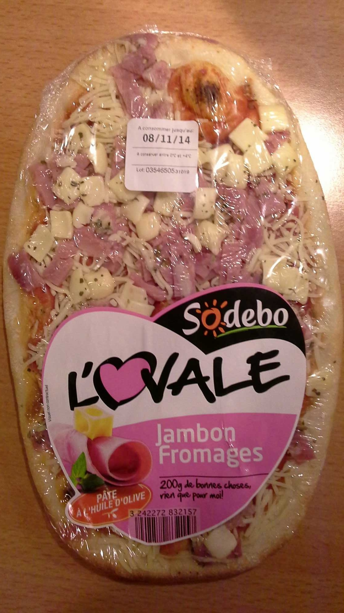 L'Ovale Jambon Fromages - Product