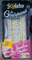 Sandwich Le Gourmand  Club - Jambon Cheddar - Product