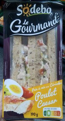 Sandwich Le Gourmand  Club - Poulet Caesar - Product