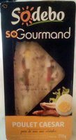 So Gourmand Poulet Caesar - Produit - fr