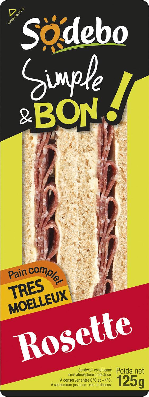 Sandwich Simple & Bon ! Club - Rosette - Produit - fr