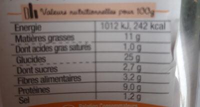 Sandwich Simple & Bon ! Club - Poulet rôti Mayo légère - Informations nutritionnelles - fr
