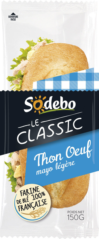 Sandwich Le Classic  - Thon Oeuf Mayo légère - Produit - fr
