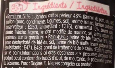 Sandwich Le Grand Classic - Jambon supérieur Emmental - Ingredients